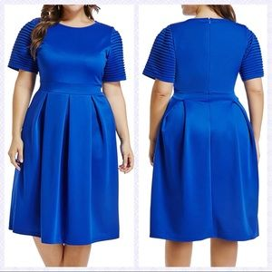 LALAGEN Royal Blue Dress